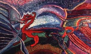Dragon Dance by Joan Pancoe