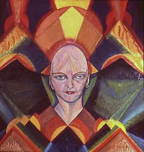 Prismatic Web by Joan Pancoe