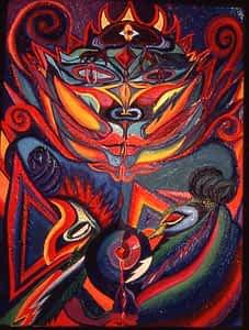 Guardian of the Phoenix Fire by Joan Pancoe